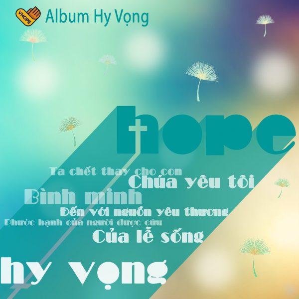 Album Nhạc Thánh Hy Vọng (Vhope)